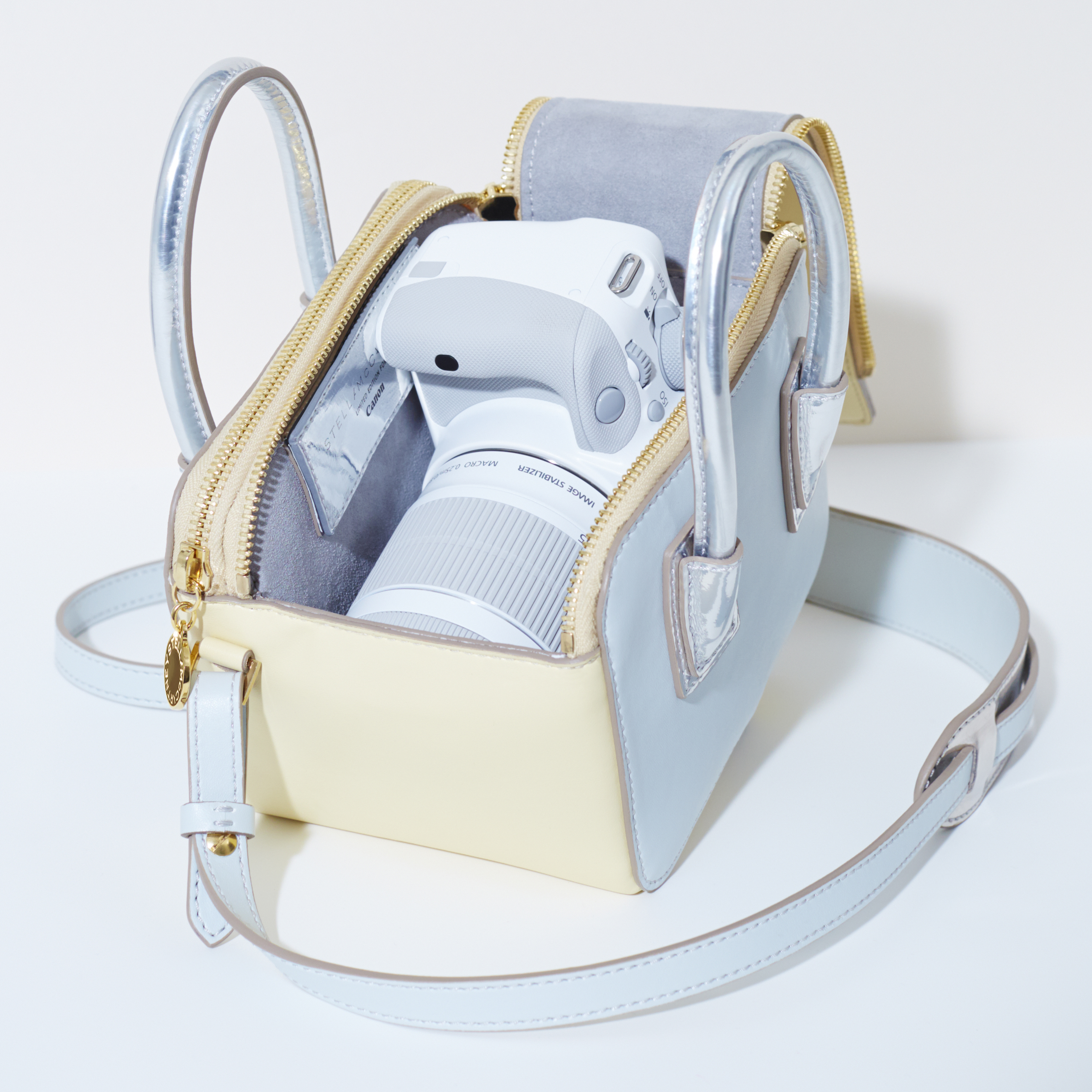 cccbae2520b60 Canon UK introduces limited edition Stella McCartney bag with white EOS 100D