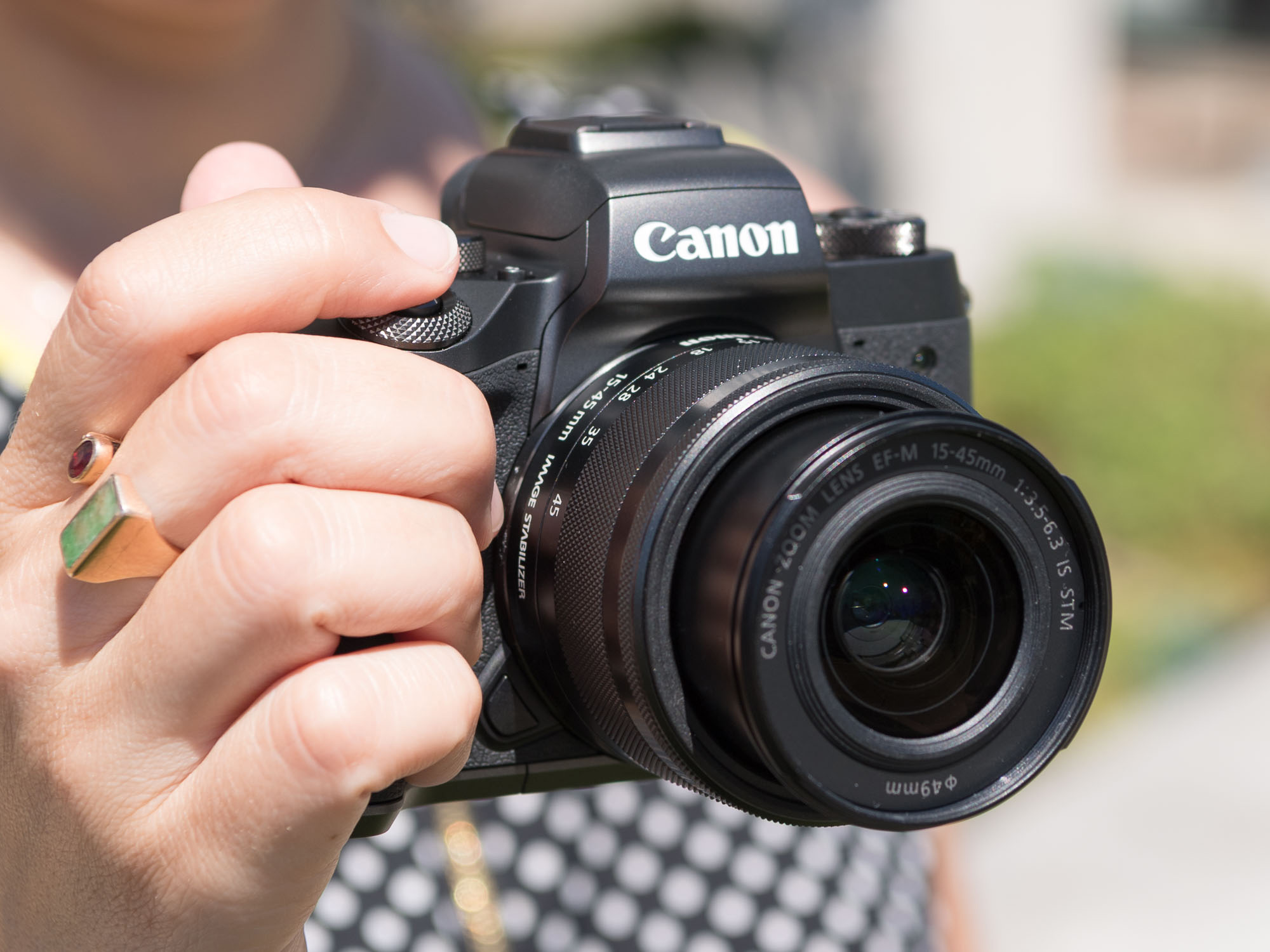 M5 is a small lightweight but powerful aps c format mirrorless camera