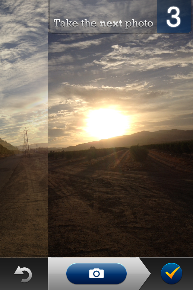 App Roundup: Panorama apps for the iPhone: Digital Photography Review