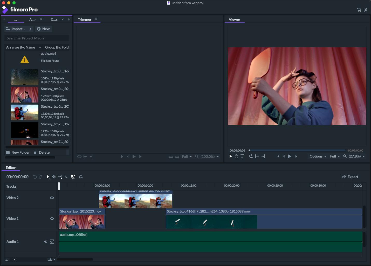 Wondershare Filmora X v10.0.0.61 macOS Filmorapro-video-editor