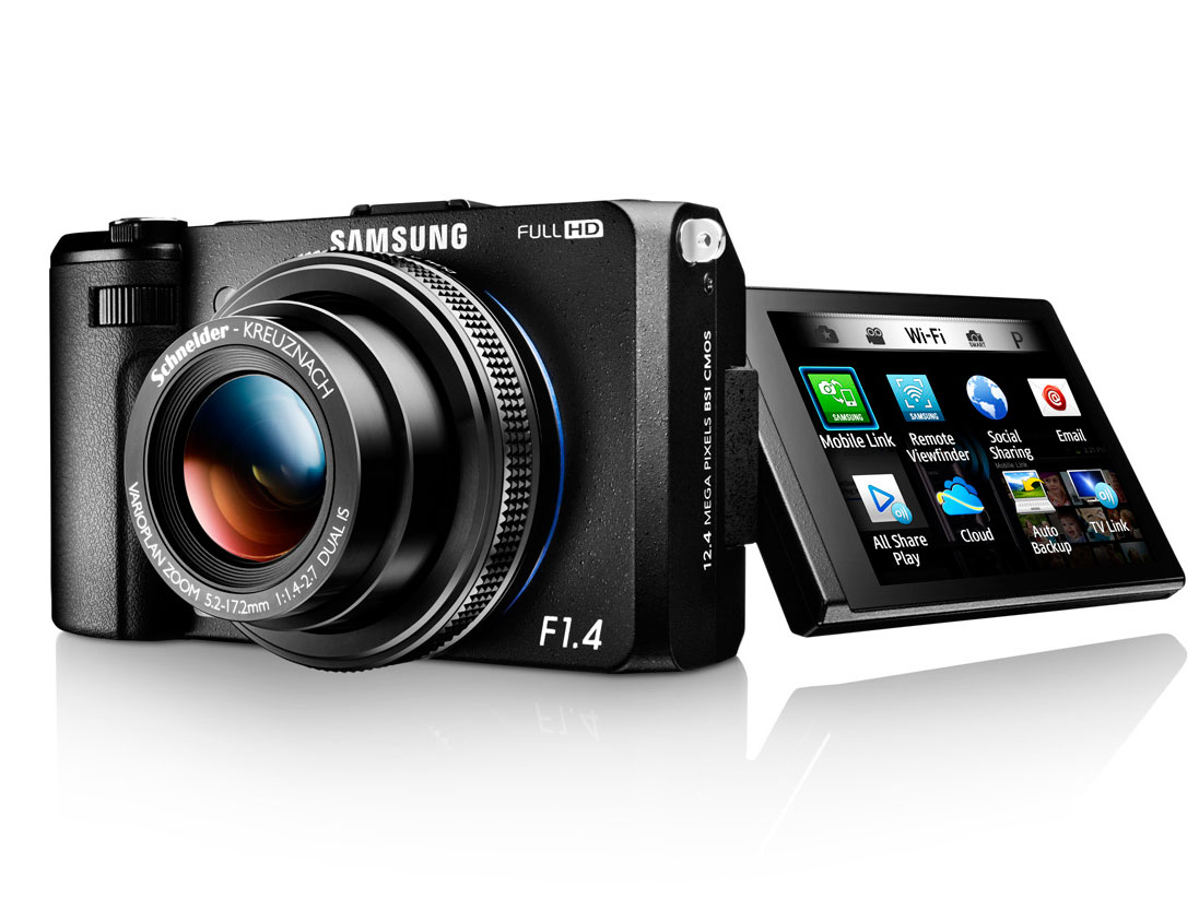 Samsung releases 12MP EX2F 'Smart Camera' : Digital Photography Review