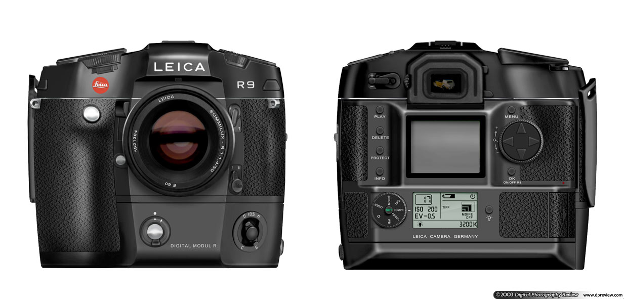 Leica Digital Modul R For The R8 R9 Digital Photography Review