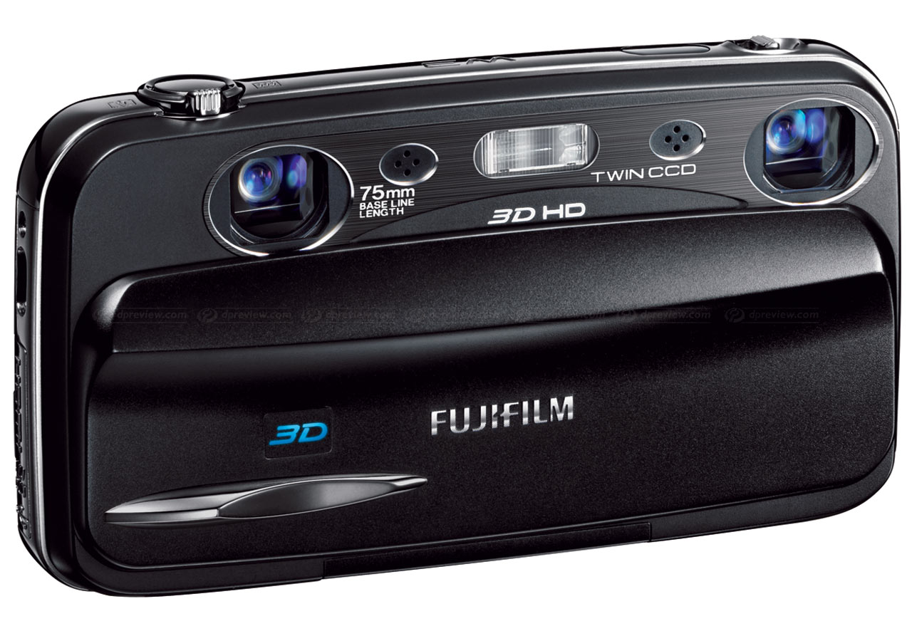 fujifilm launches finepix real 3d w3 compact with 3d movies digital rh dpreview com Fujifilm FinePix Digital Camera Fujifilm WP Camera Body Mount