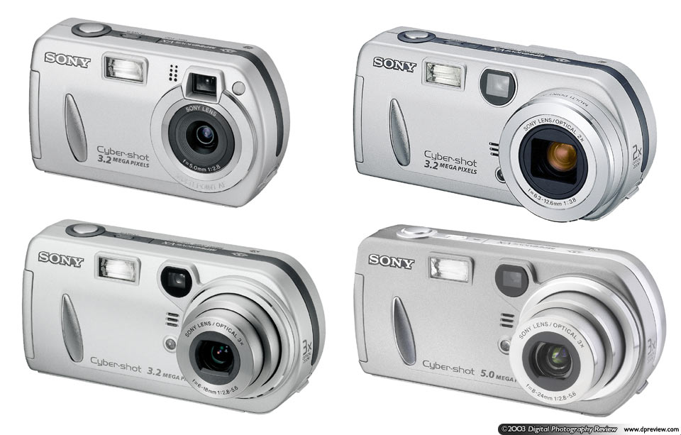 Sony DSC-P32, P52, P72 and P92: Digital Photography Review