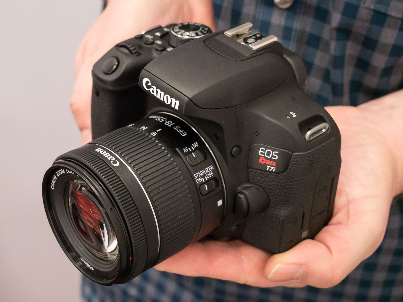 Hands-on with the Canon EOS Rebel T7i / EOS 800D: Digital ...