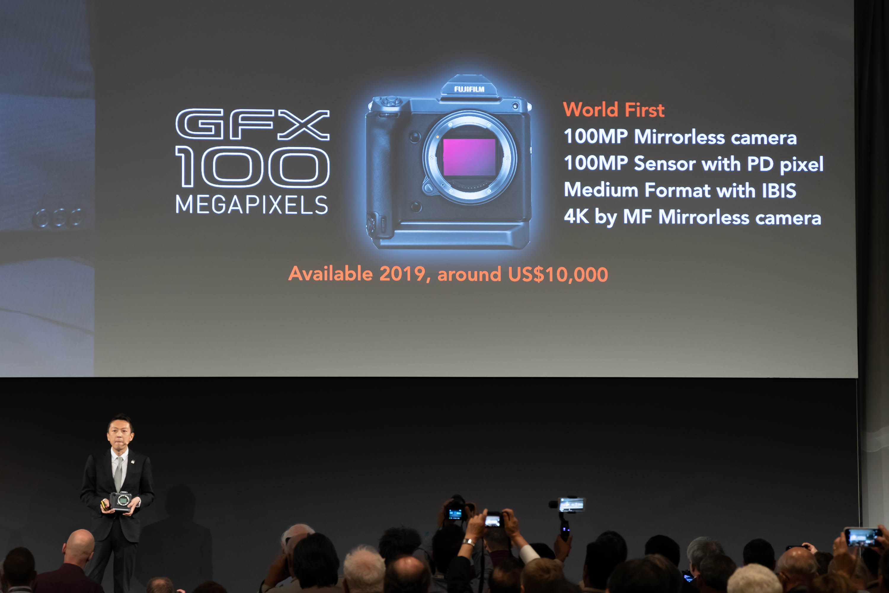 Fujifilm developing 100MP medium format with phase detection