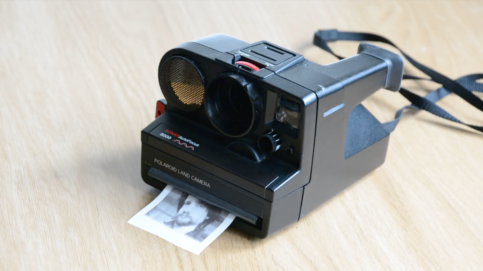 this hacked polaroid camera prints your photos onto thermal paper
