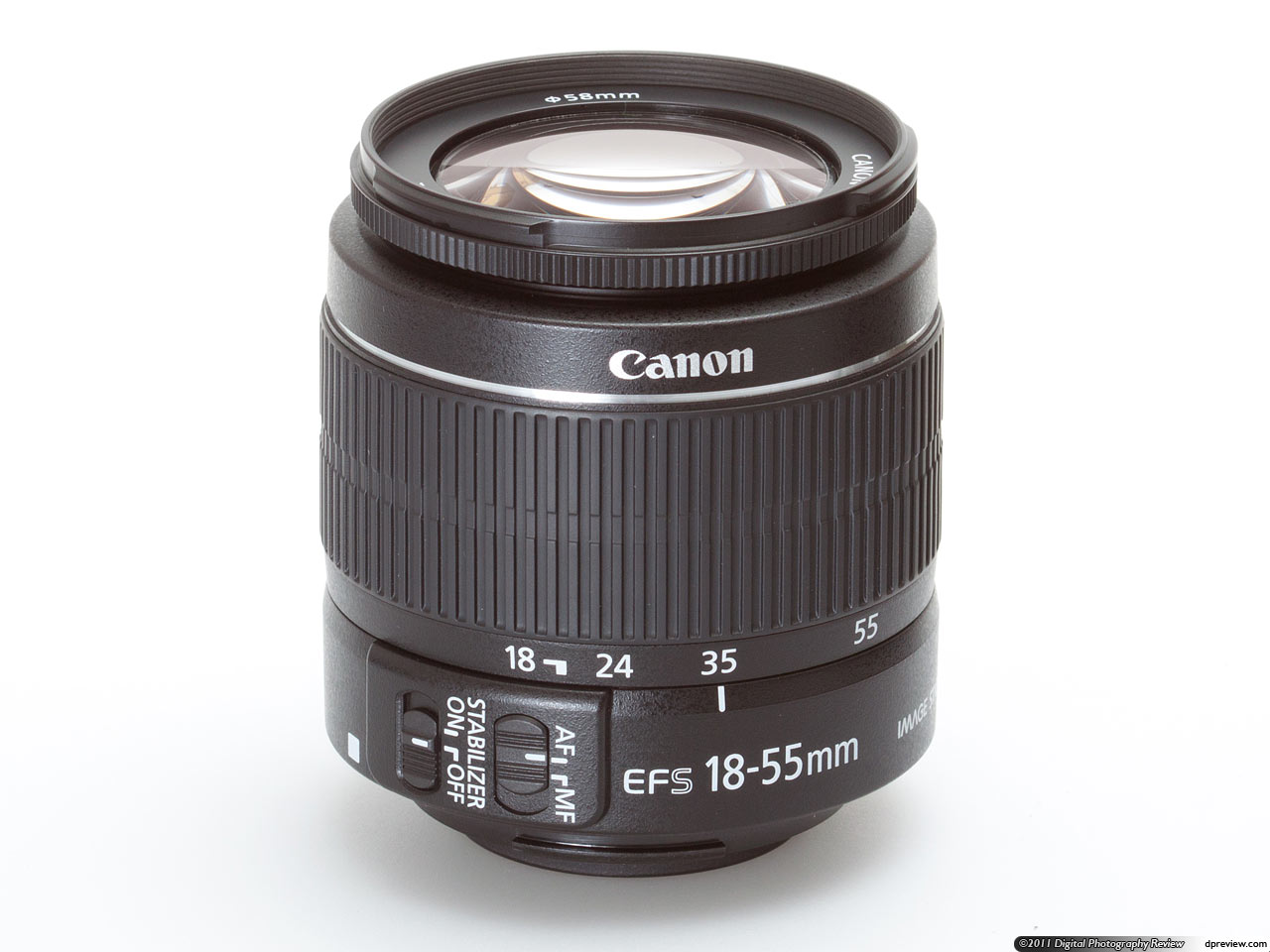 Revised kit lens - Canon EF-S 18-55mm F3.6-5.6 IS II