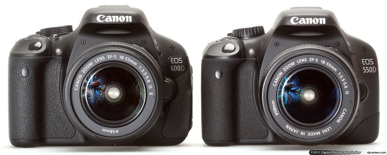 Canon eos 600d vs eos 550d whats changed