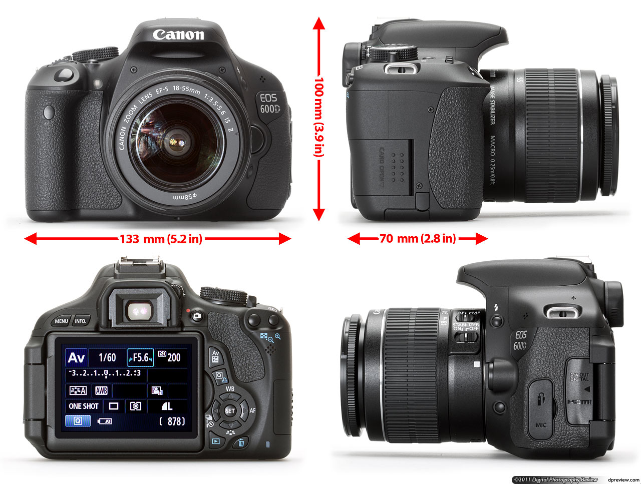 canon rebel t3i eos 600d review digital photography review. Black Bedroom Furniture Sets. Home Design Ideas