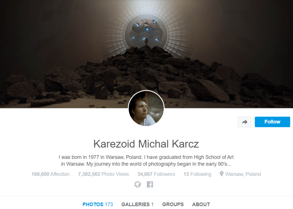 500px tells photo artist it once praised that his work is no longer
