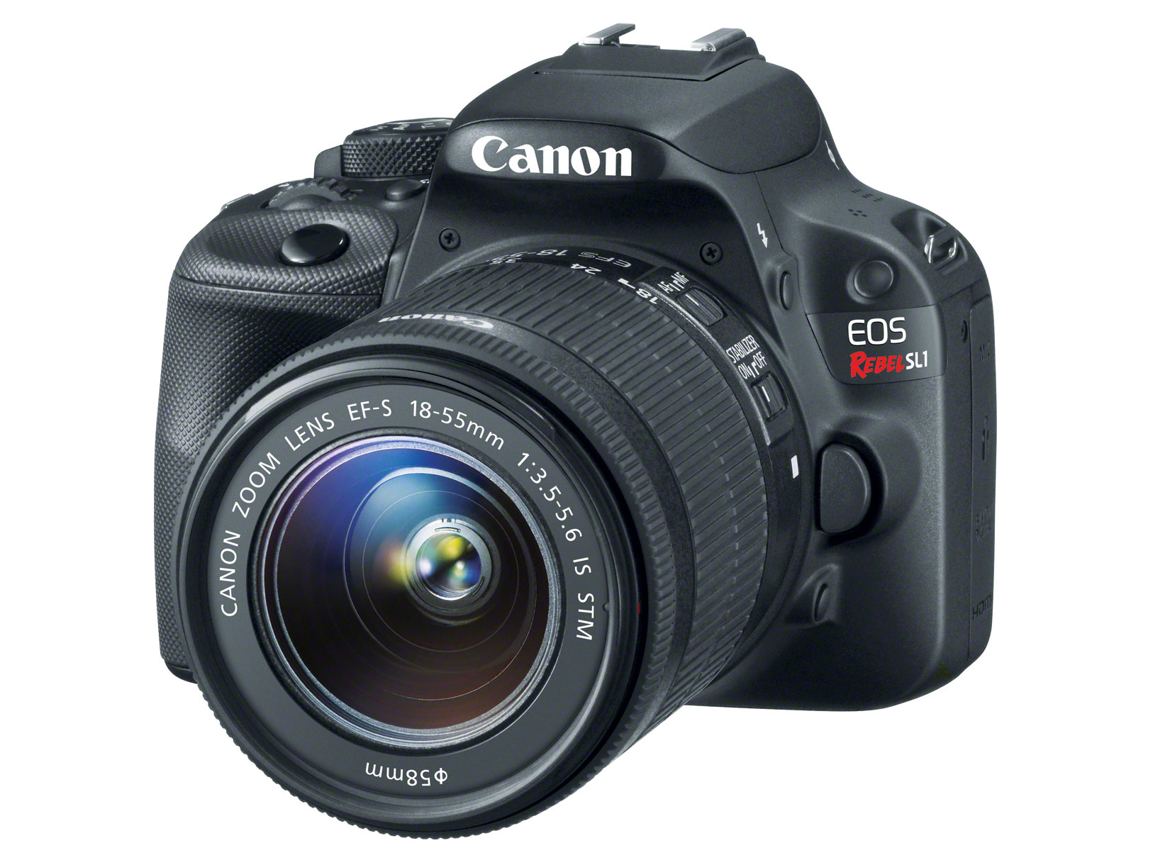 Canon unveils EOS 100D/Rebel SL1 world\'s smallest and lightest APS-C ...