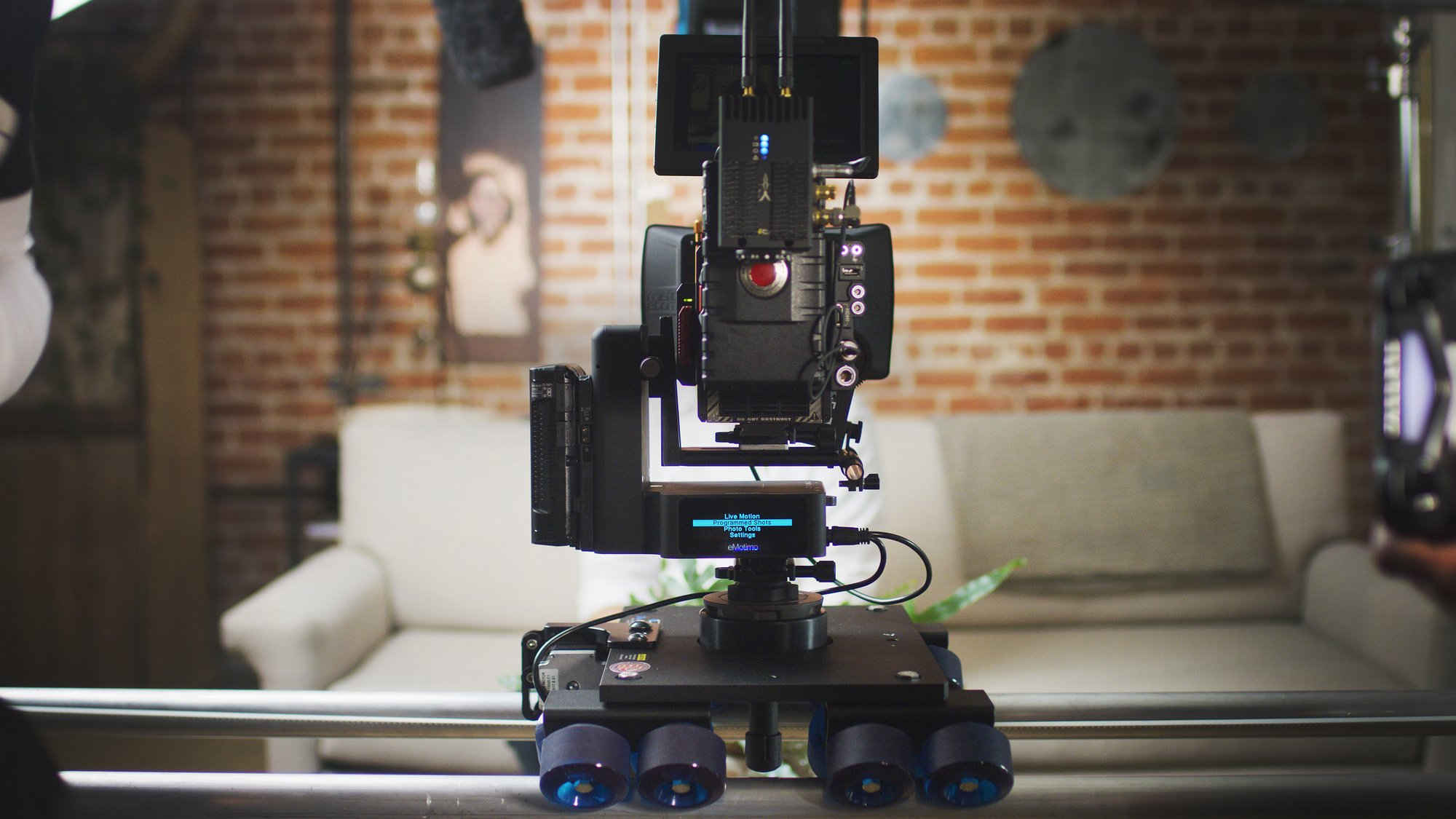 eMotimo motion control kit motorizes your Dana Dolly for a