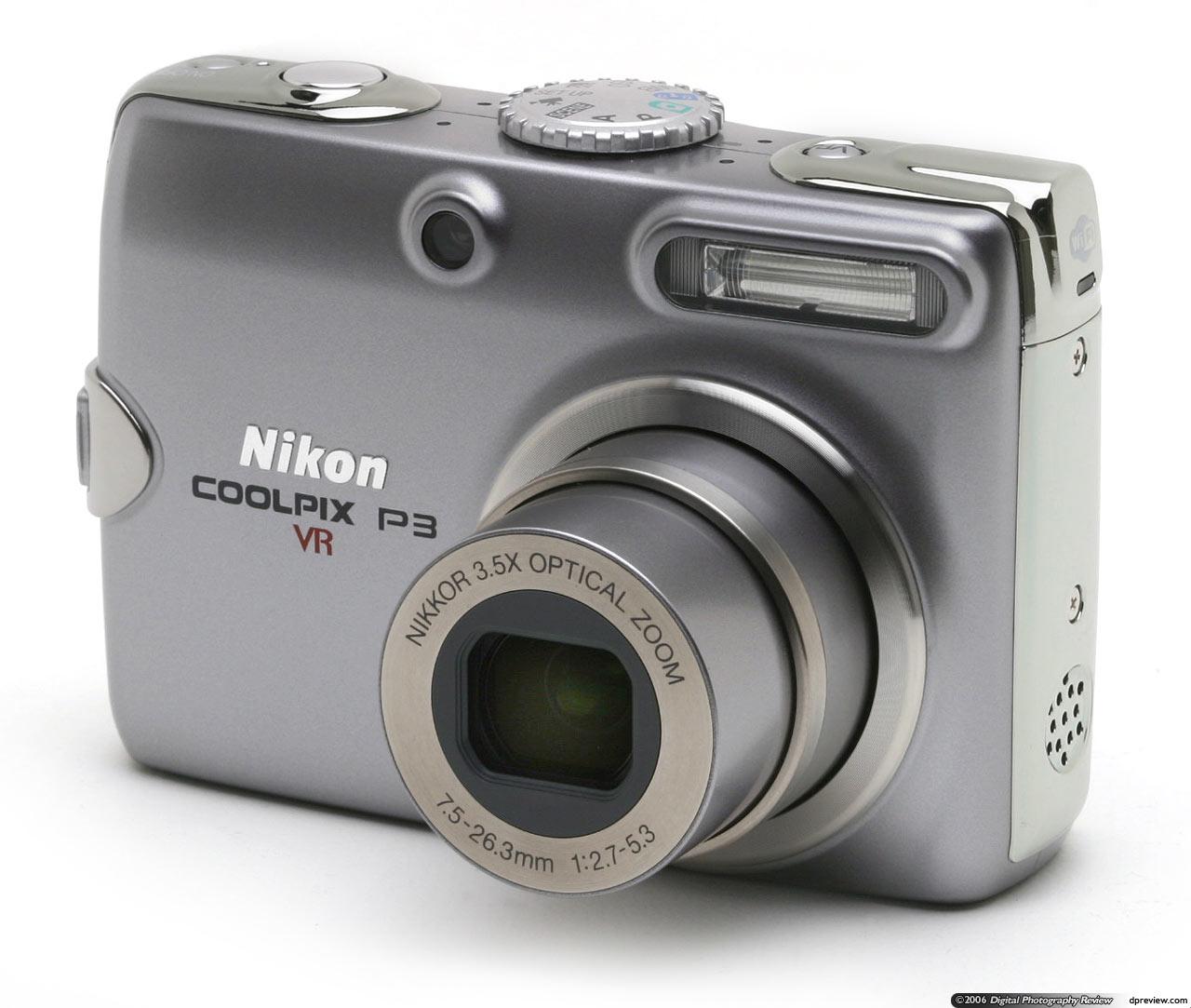 nikon coolpix p3 concise review digital photography review rh dpreview com Nikon Camera User Manual Nikon Coolpix S3000 Manual