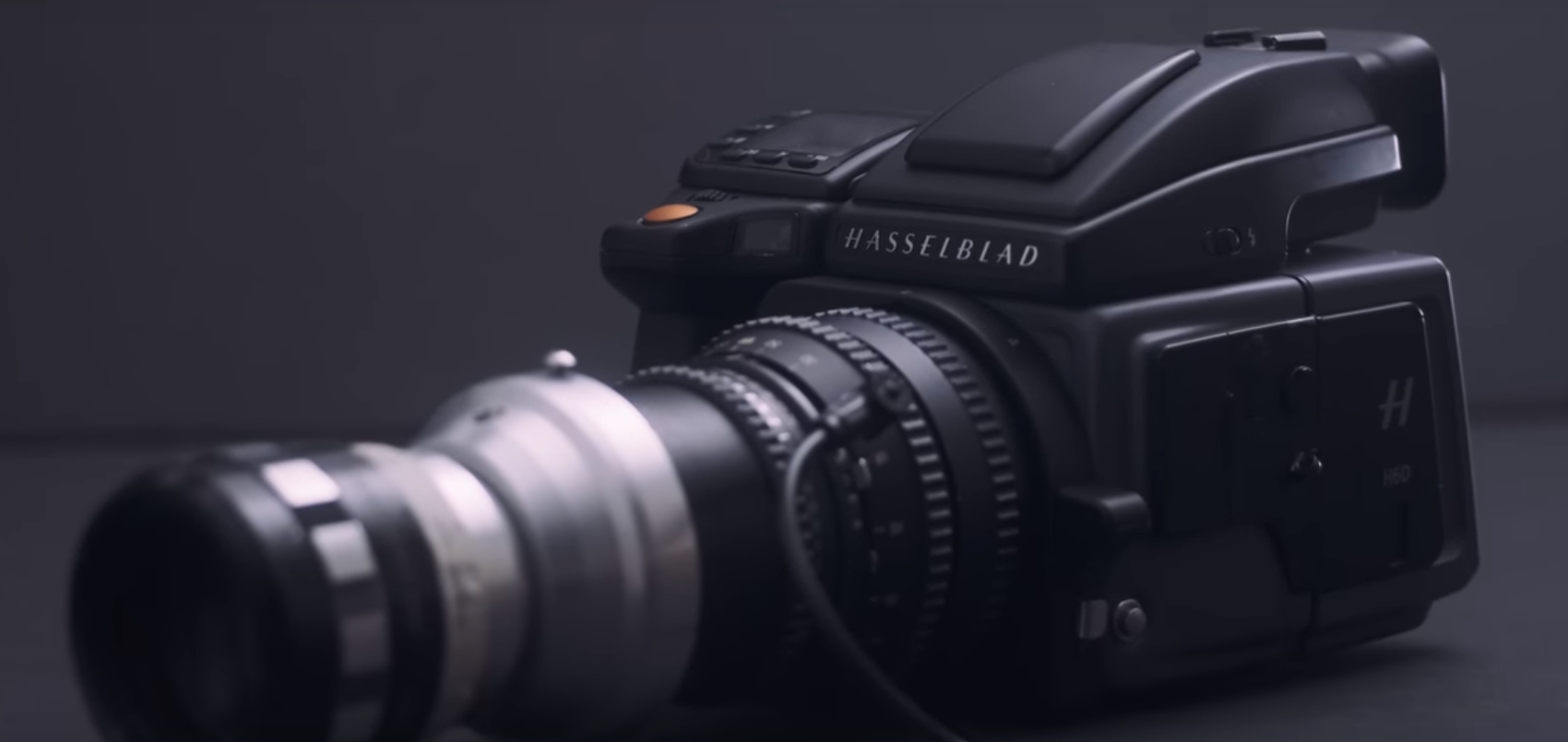 Video: Hasselblad H6D-100C medium-format camera paired with DIY