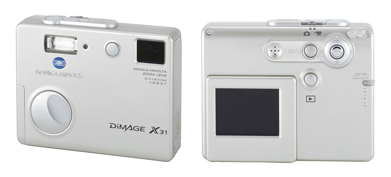 konica minolta dimage x50 and x31 digital photography review rh dpreview com Minolta DiMAGE Scan Dual Minolta DiMAGE XT