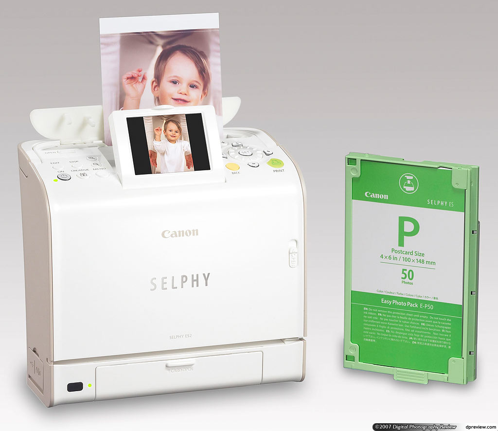 Canon launches Selphy ES2 and ES20: Digital Photography Review