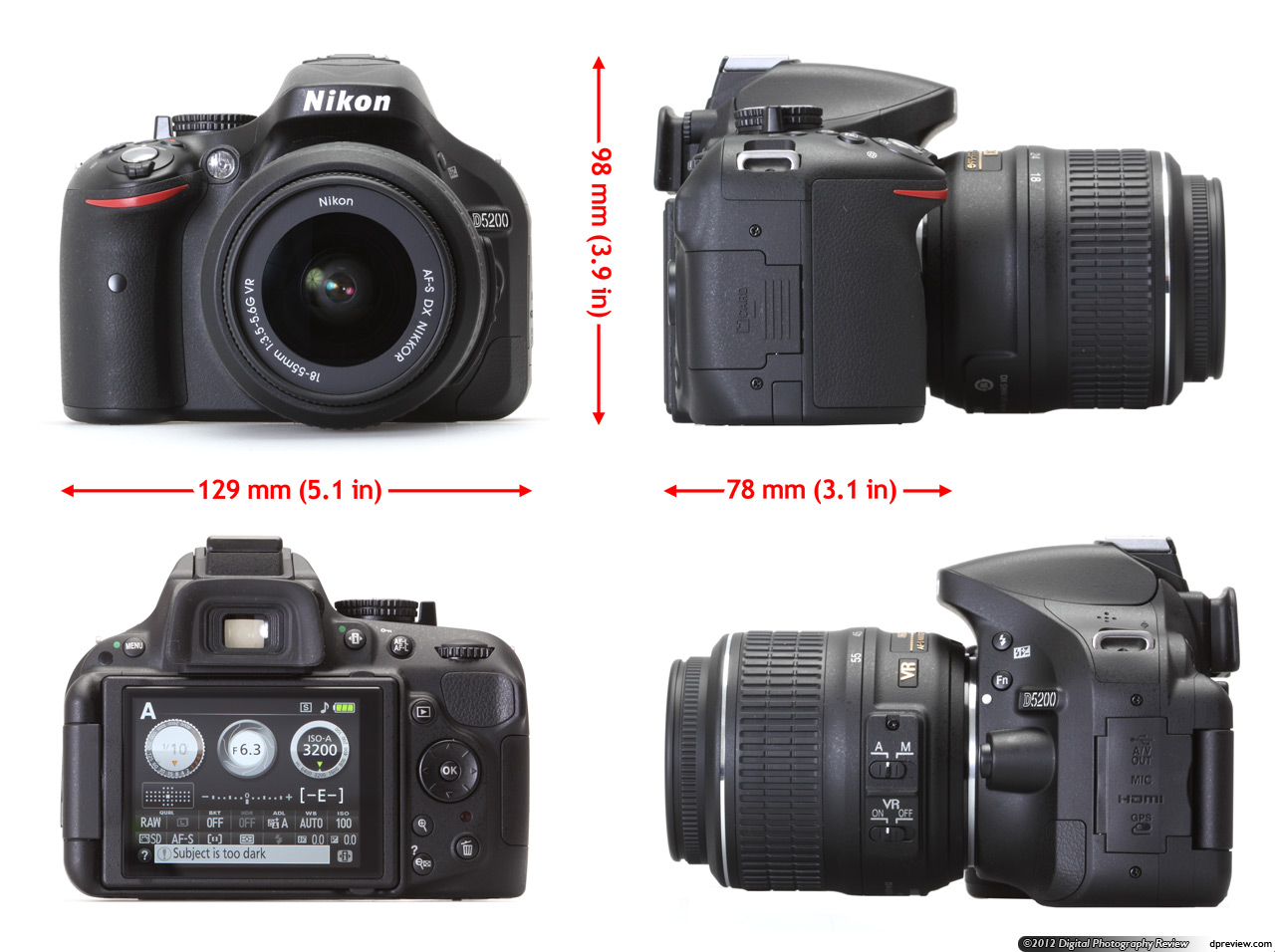 Nikon D5200 In-Depth Review: Digital Photography Review