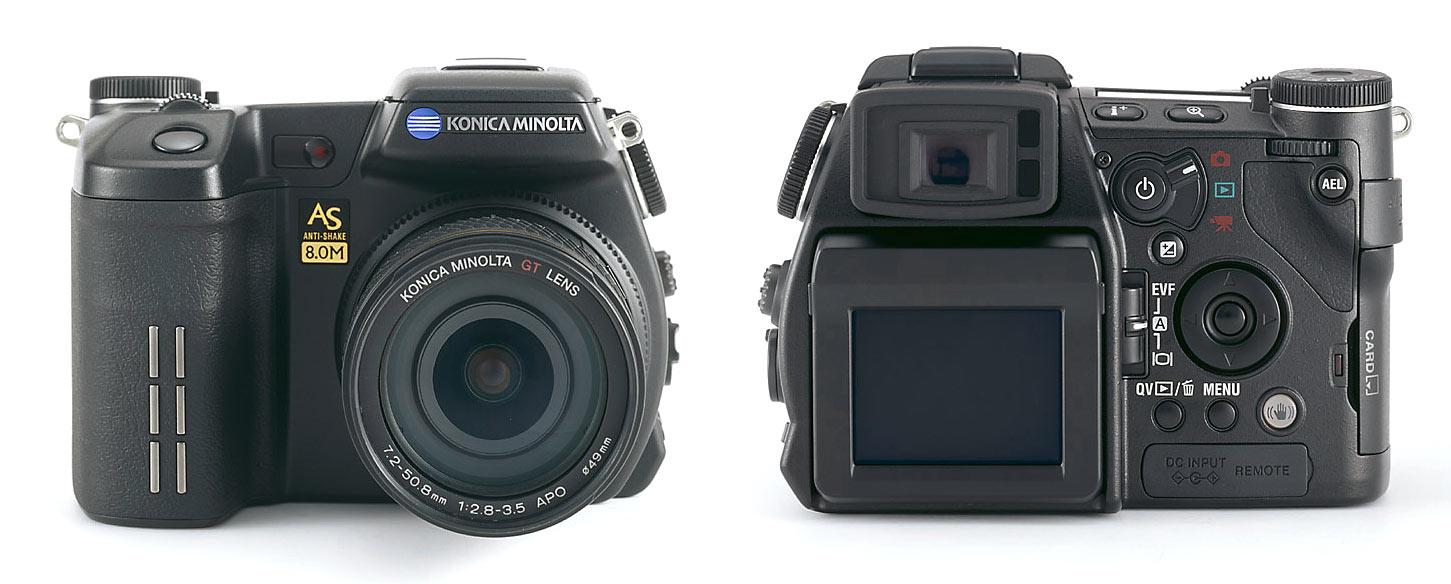 konica minolta introduces 8 megapixel single lens reflex slr type digital camera with body integral anti shake technology - Konica Minolta Digital Camera
