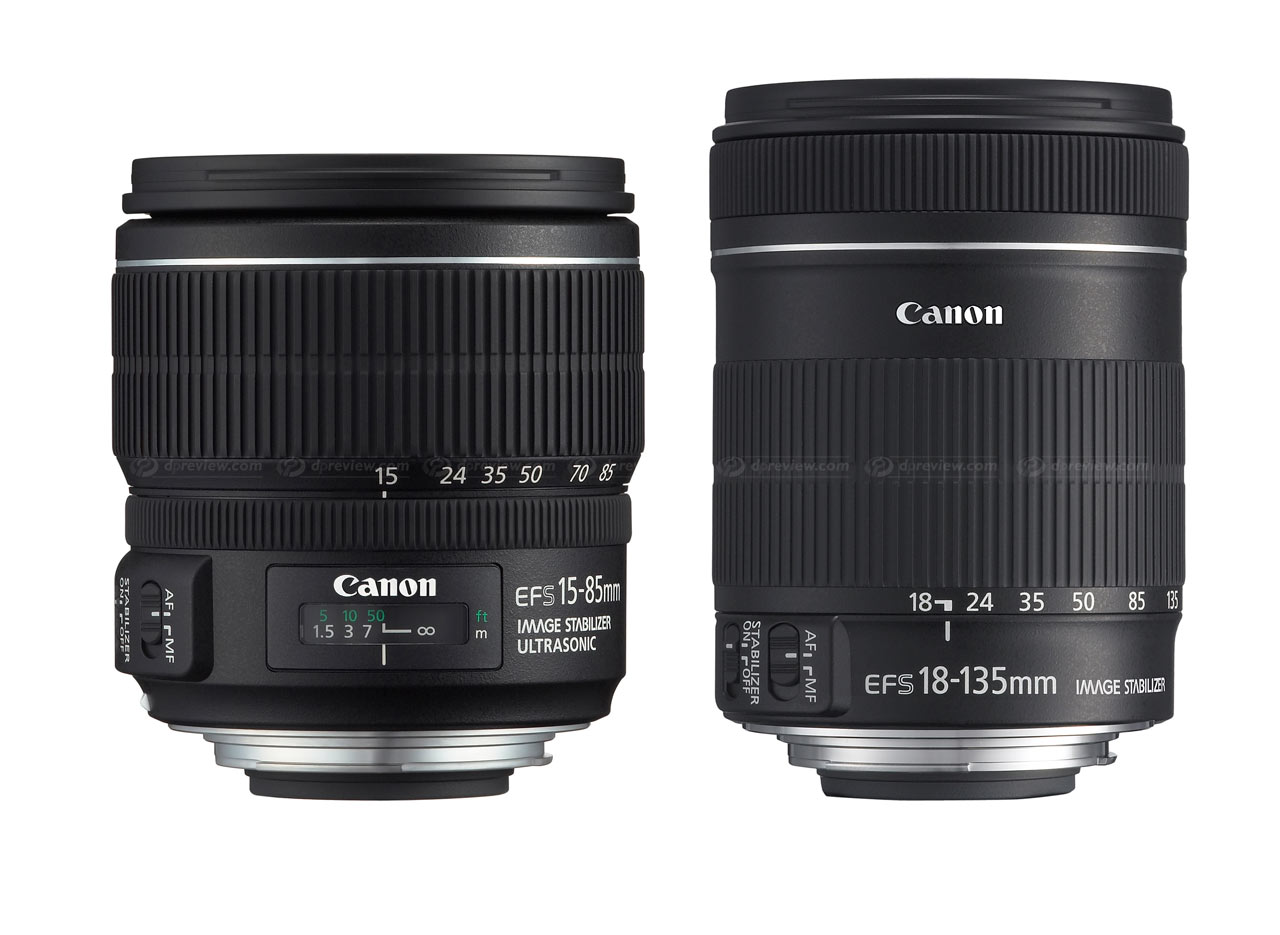 canon launches 15 85mm and 18 135mm ef s lenses digital. Black Bedroom Furniture Sets. Home Design Ideas