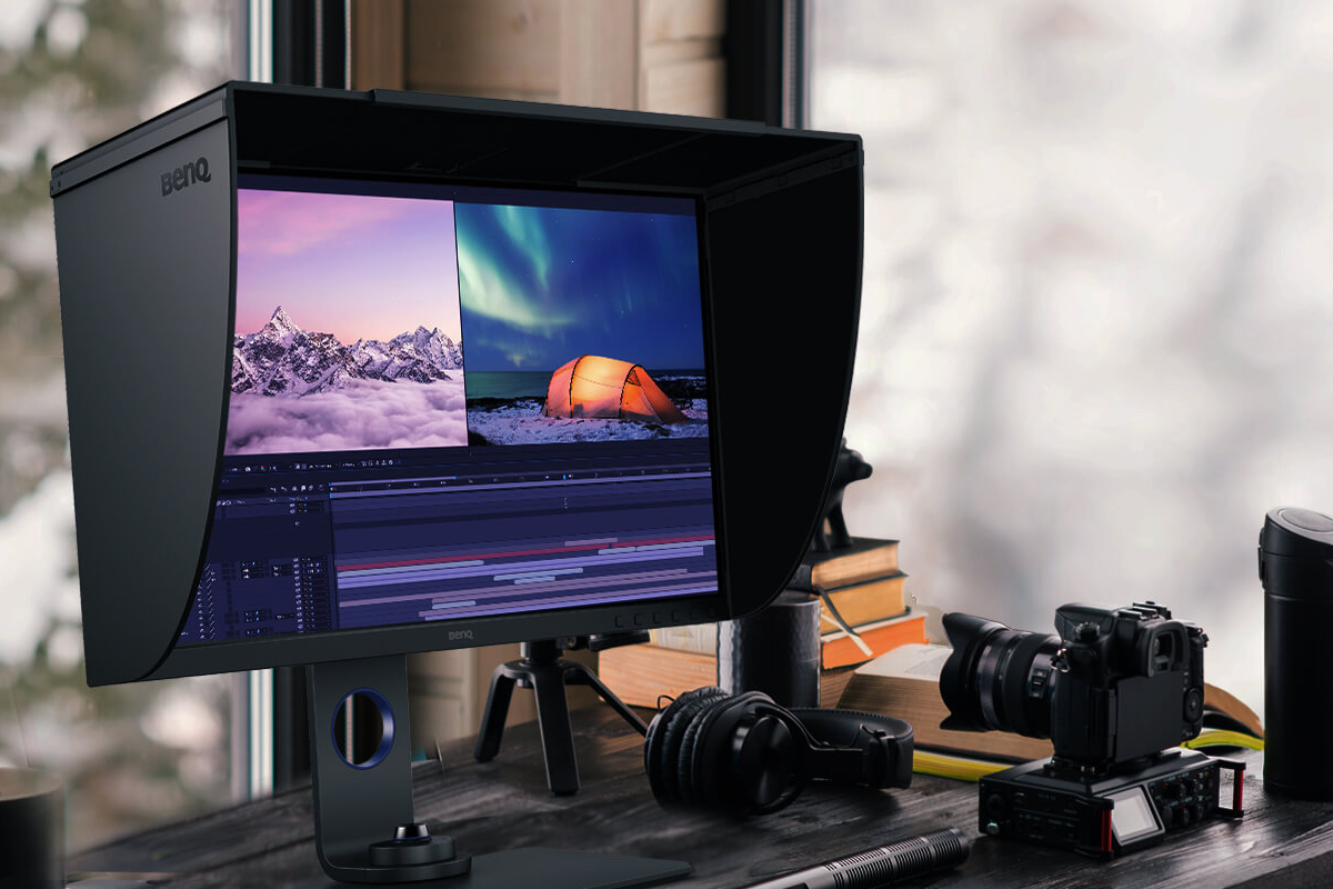 BenQ's SW270C monitor is a 27