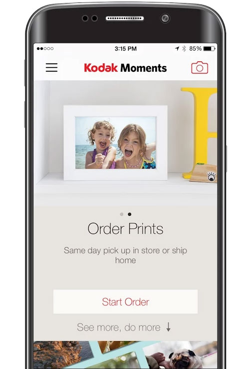 Updated Kodak Moments App Lets You Share Edit And Print Your Images