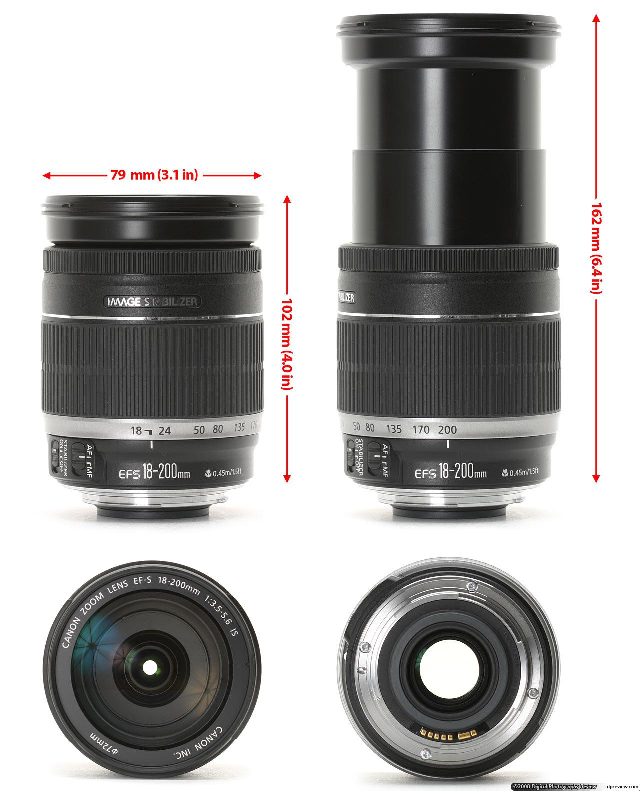 Canon EF-S 18-55mm f//3.5-5.6 DC III NEU BULK