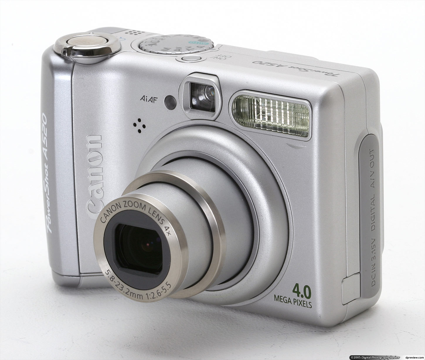 canon powershot a520 review digital photography review rh dpreview com Newest Canon Cameras PowerShot Newest Canon Cameras PowerShot