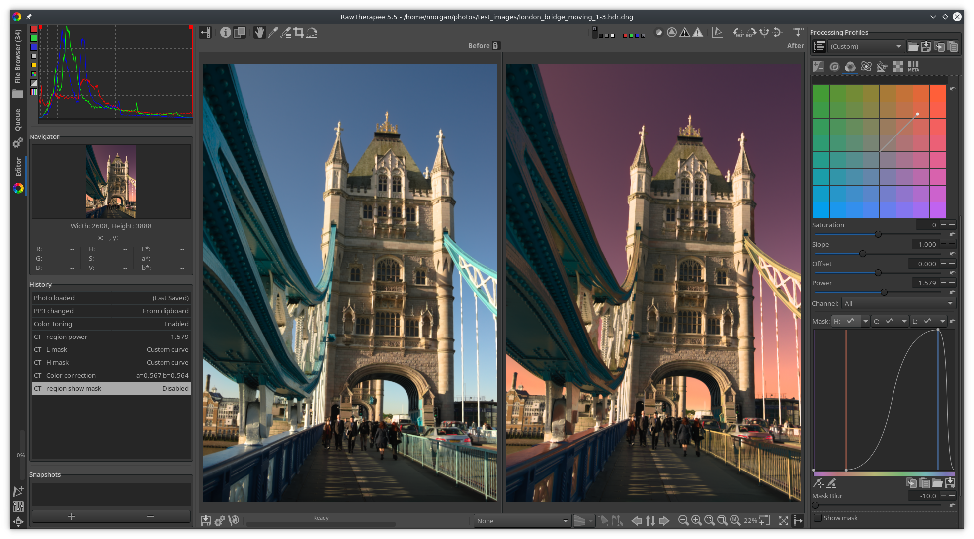RawTherapee v5.5 released with Haze Removal, improved curves tool ... Free Raw photo-processing software RawTherapee has been updated to version  5.5, gaining a new Shadows/Highlights tool, a striping and banding tool, ...