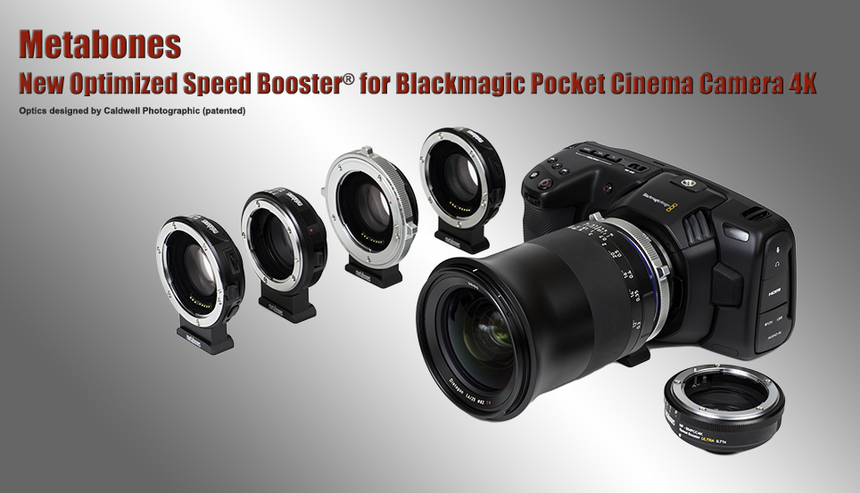 Metabones introduces Speed Booster series for Blackmagic