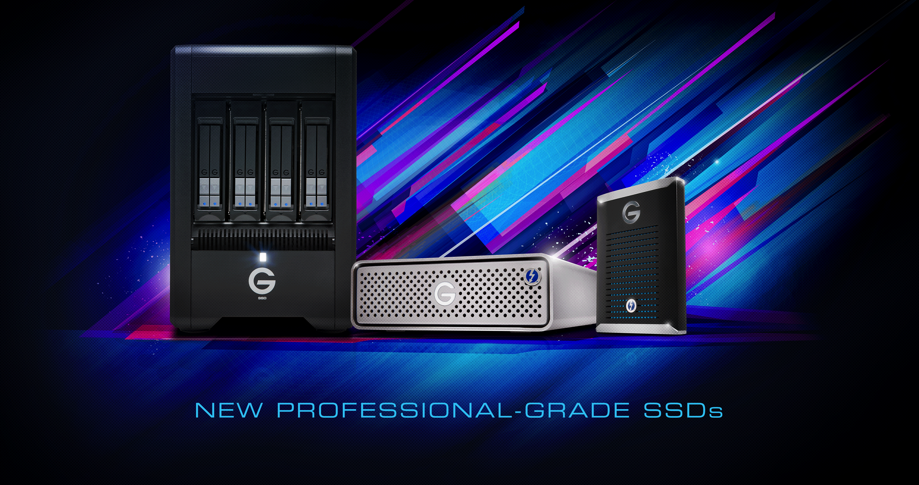 Western Digital debuts new G-Drive and G-Speed professional