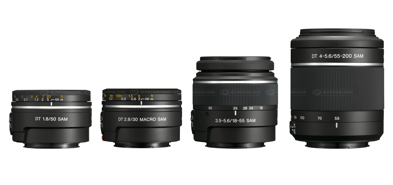 Sony unveils four new lenses: Digital Photography Review