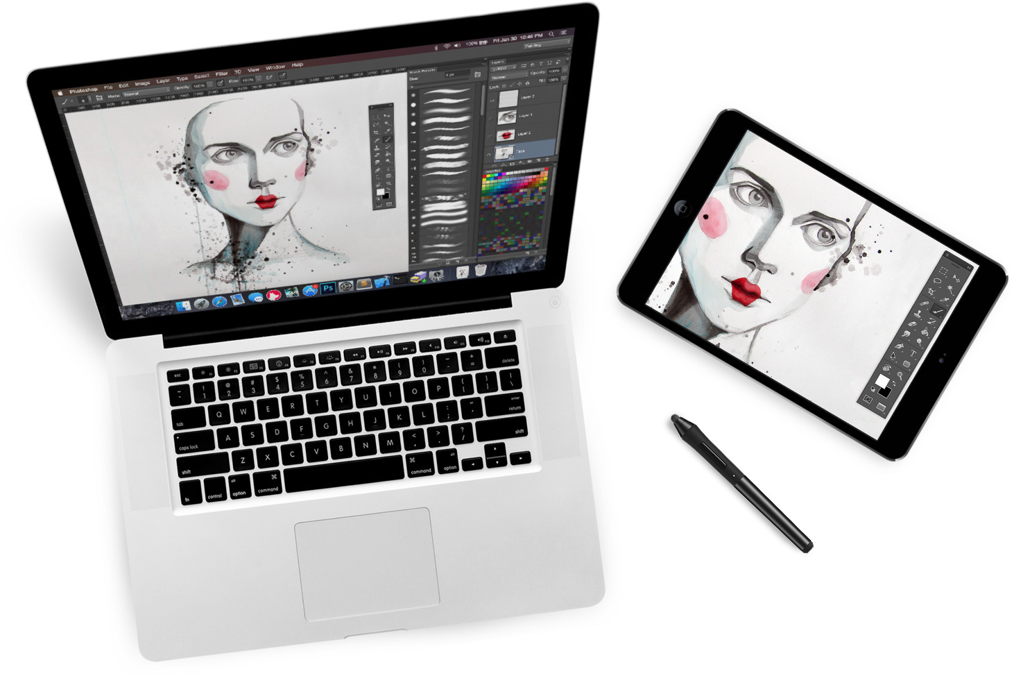 astropad turns ipad into drawing tablet for mac digital