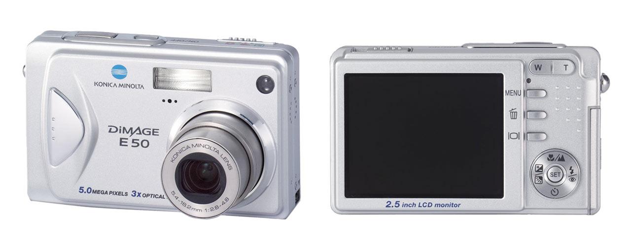 dimage e50 outstanding value for money 17th january 2005 konica minolta - Konica Minolta Digital Camera
