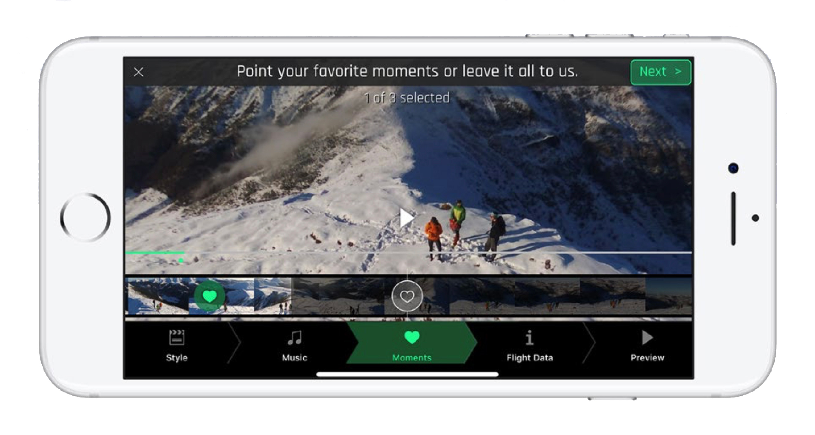 Parrot S Flight Director Automatically Creates Highlight Videos From Drone Footage Digital Photography Review