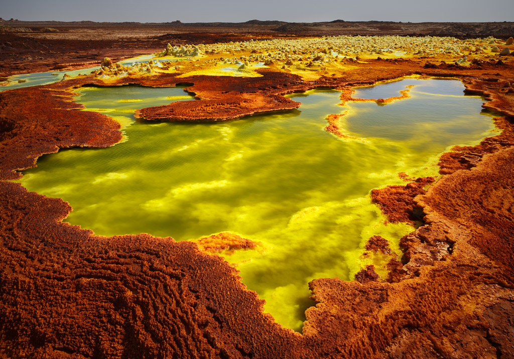 Hell On Earth Shooting In The Danakil Depression Digital