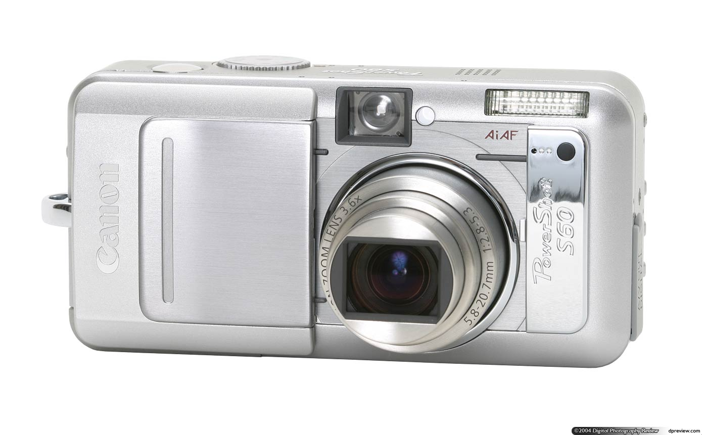 canon powershot s60 review digital photography review rh dpreview com canon powershot s60 user manual PowerShot S10