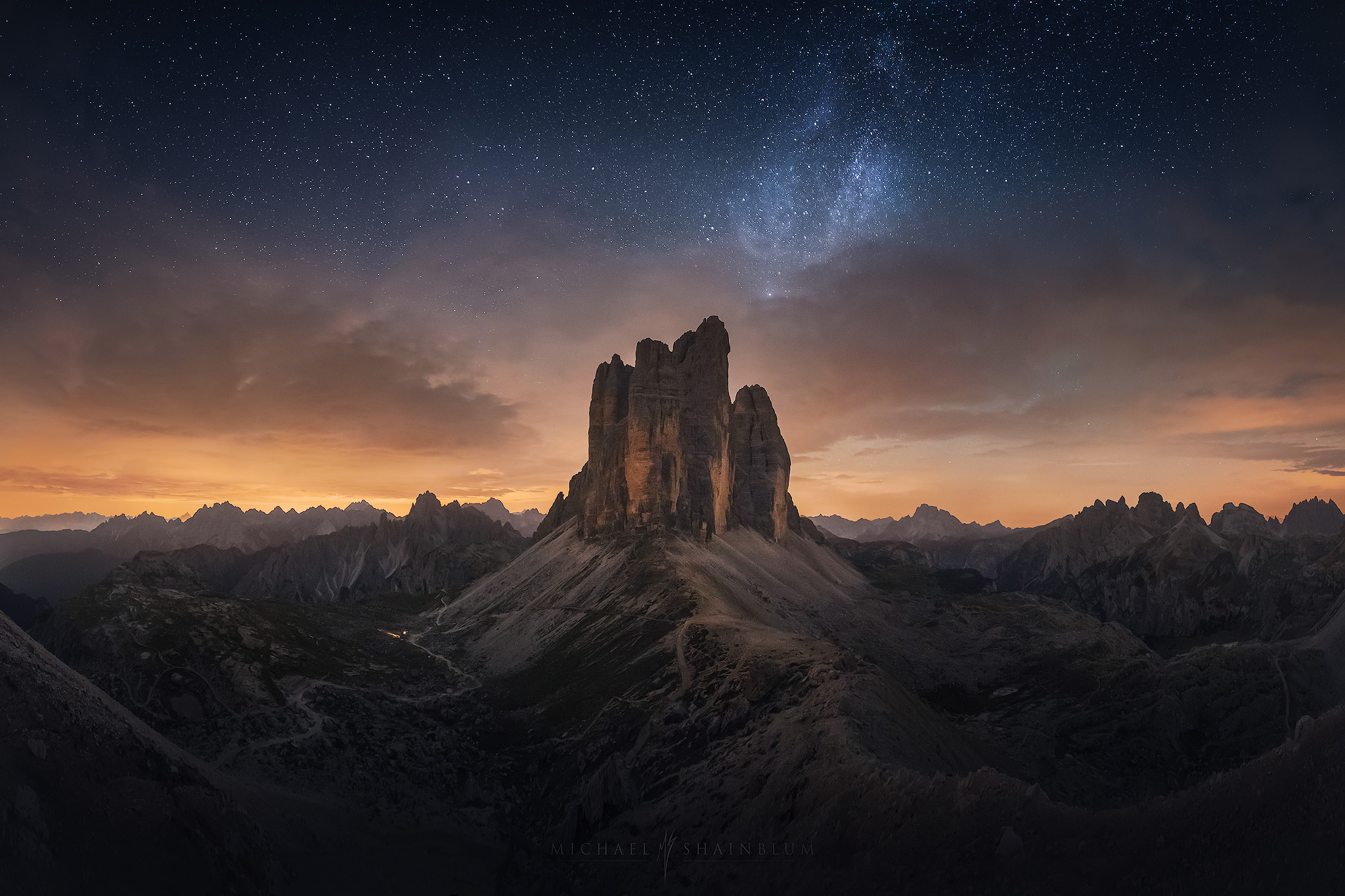 Photo Story Of The Week The Milky Way Over The Dolomites