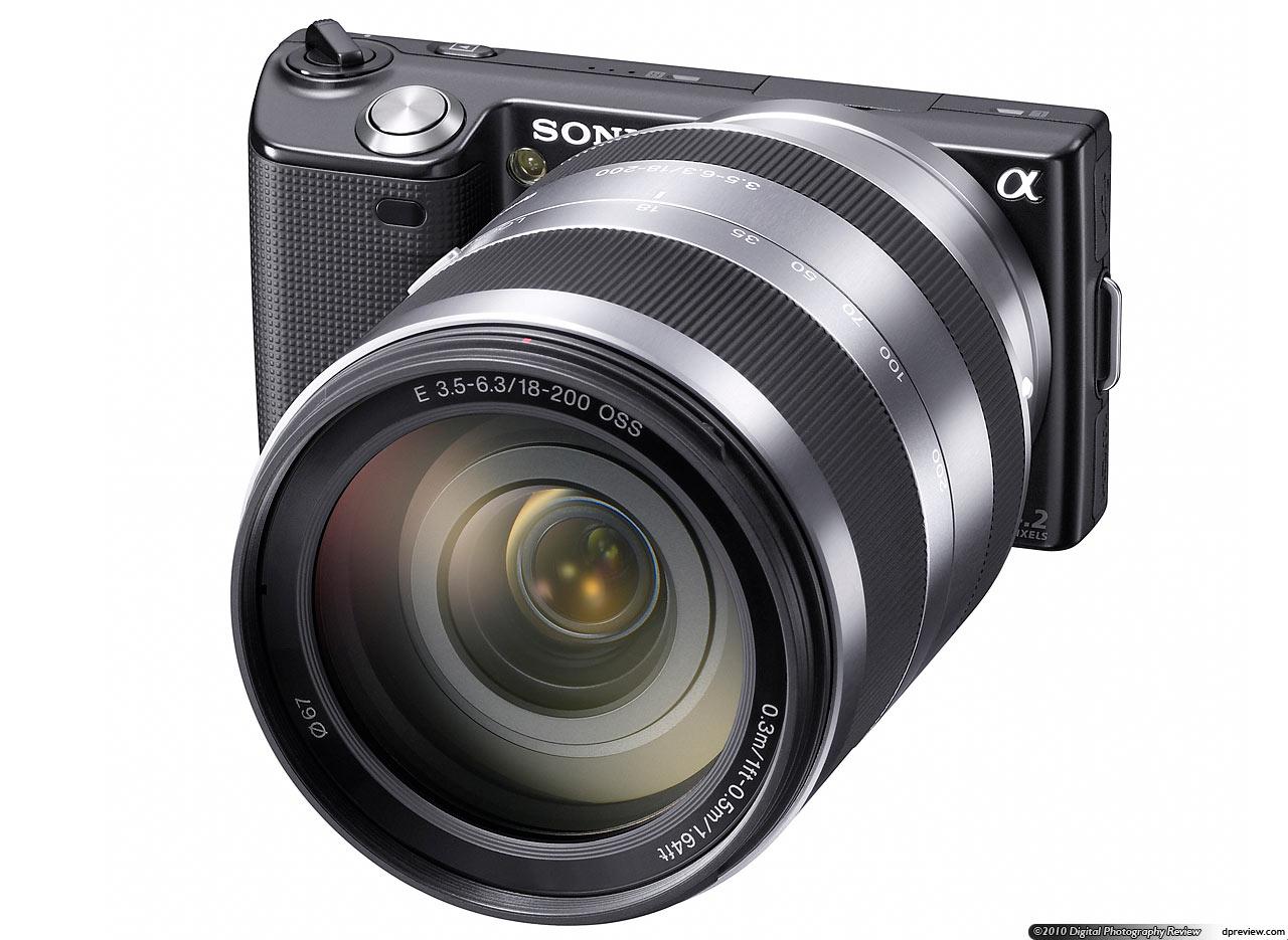 sony nex 3. nex-5 with 18-200mm f3.5-5.6 oss sony nex 3 l