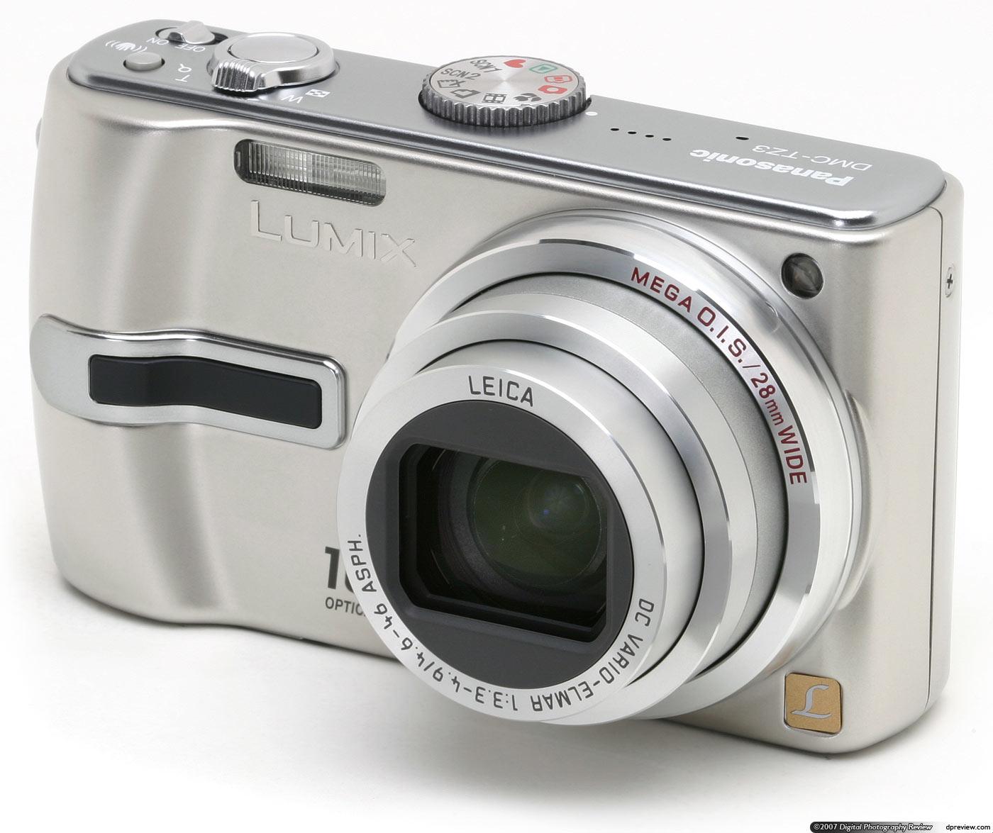 panasonic lumix dmc tz3 review digital photography review rh dpreview com Panasonic Lumix DMC ZS3 Panasonic Lumix DMC- FZ50