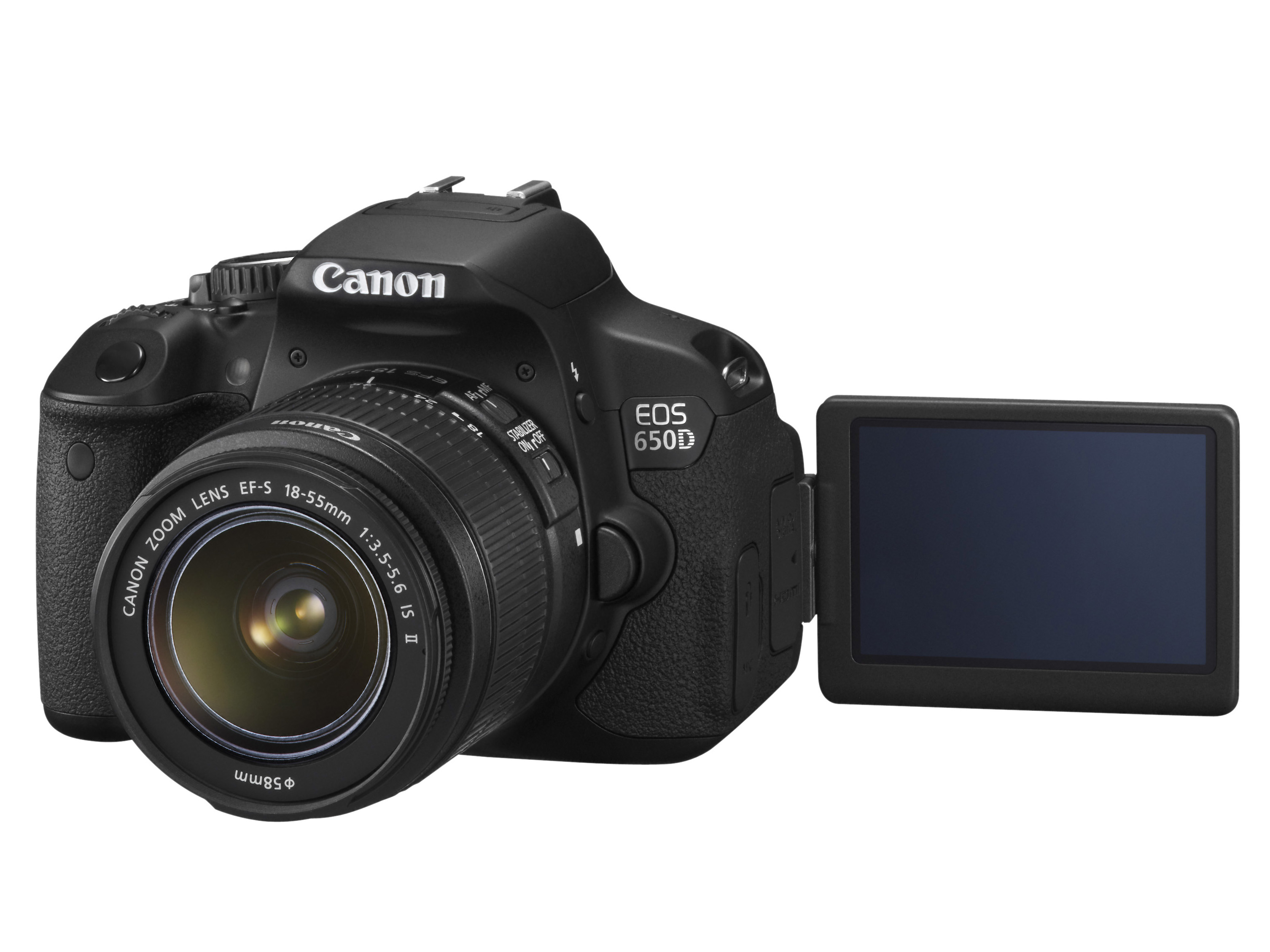 Canon Announces Eos 650d Rebel T4i 18mp Touch Screen Dslr