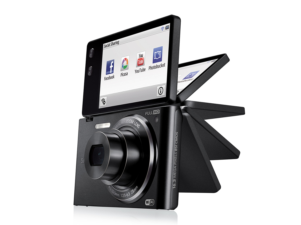 Samsung launches mv900f flip screen wi fi compact digital samsungs mv900f camera delivers beautiful portraits from any angle plus built in wi fi sharing on the go easy ccuart Choice Image