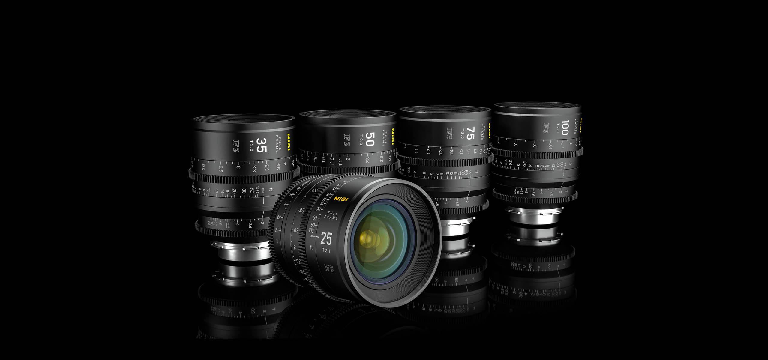 NiSi jumps into lens game, unveils five full-frame cinema prime ...