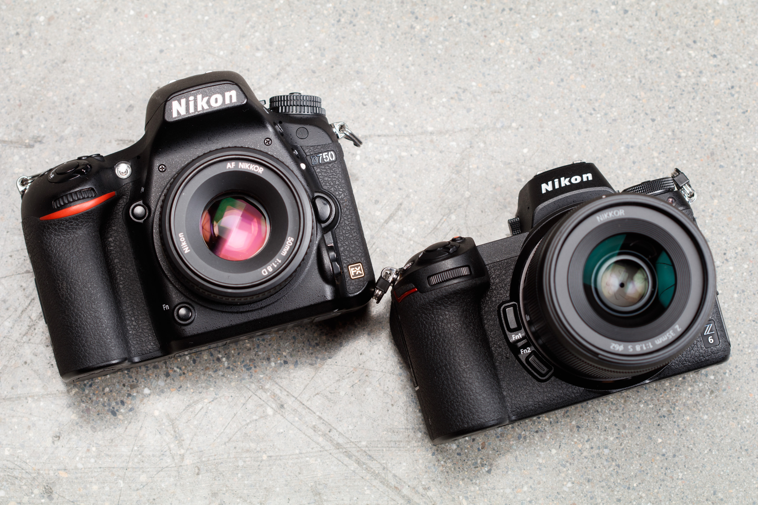 Here's why I won't be swapping my Nikon D750 for a Z6 (but