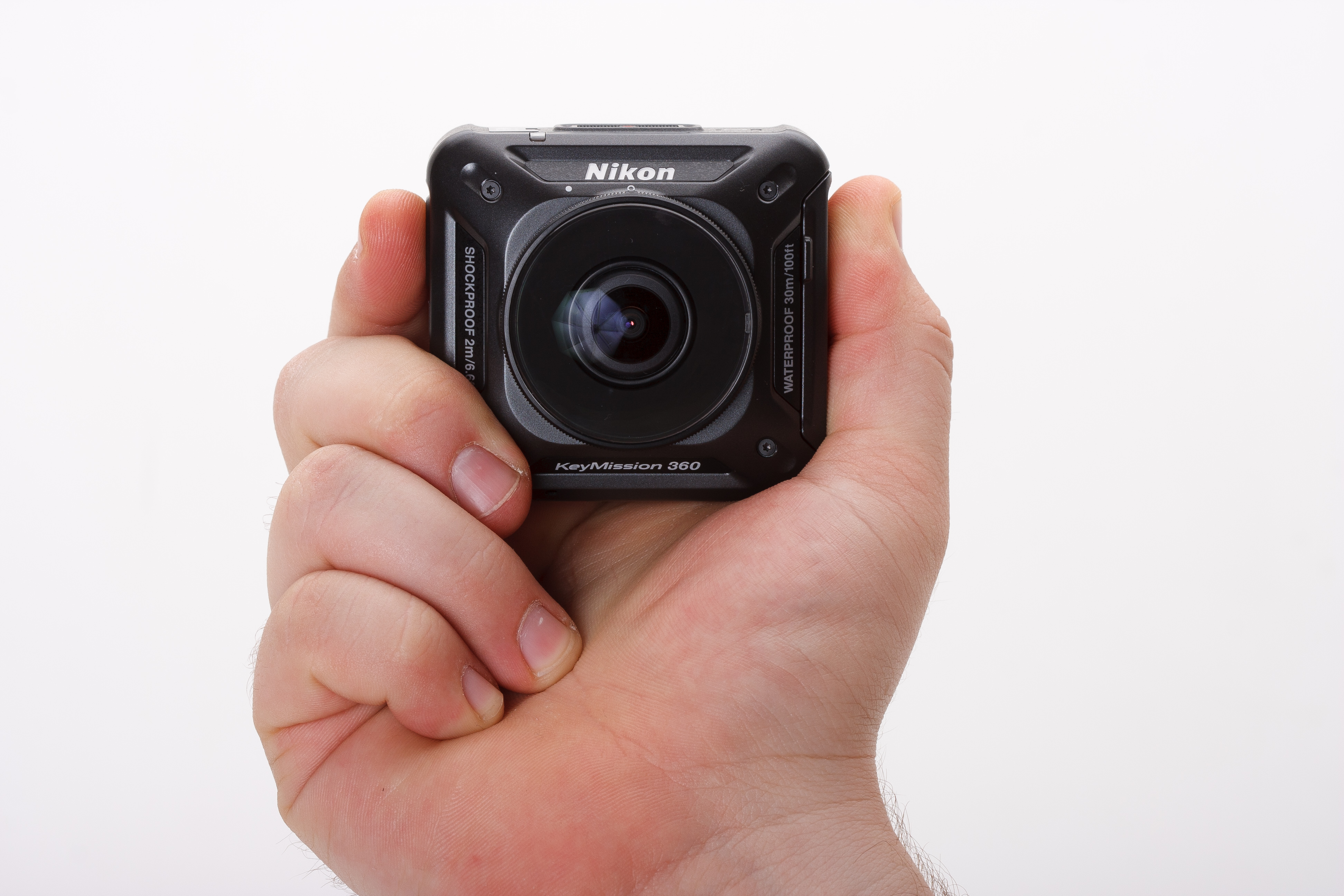Sphere Of Frustration Nikon Keymission 360 Review Digital Camera Sportcam Non Wifi Action Cam Gopro When We Talk About How A Handles Usually Mean It Feels In The Hand Much Weighs And Comfortable Is To Shoot Using Viewfinder