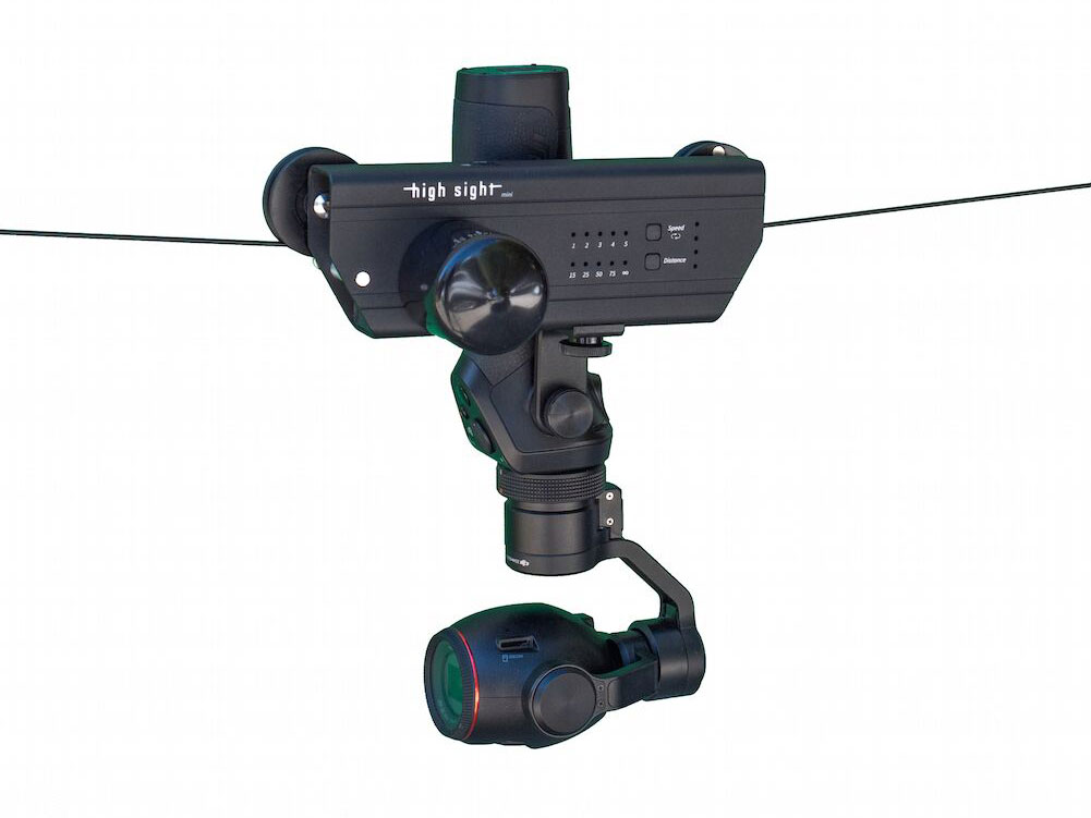 Gopro Cable Cam : High sight launches the mini portable cable camera system