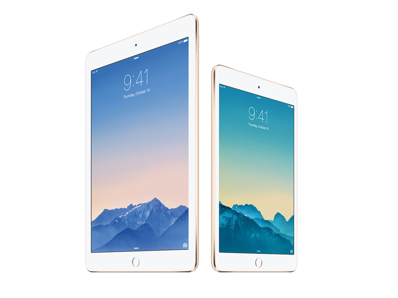 Apple Unveils IPad Air 2 IPad Mini 3 And New 27in IMac