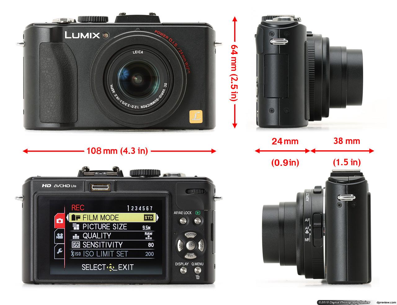 group test canon powershot s95 panasonic lumix dmc lx5 nikon rh dpreview com lumix lx5 manual pdf Fish Finder Marcum LX 5