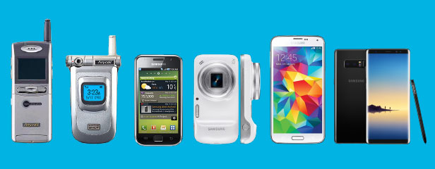 This Samsung Infographic Tracks The Evolution Of The Camera Phone