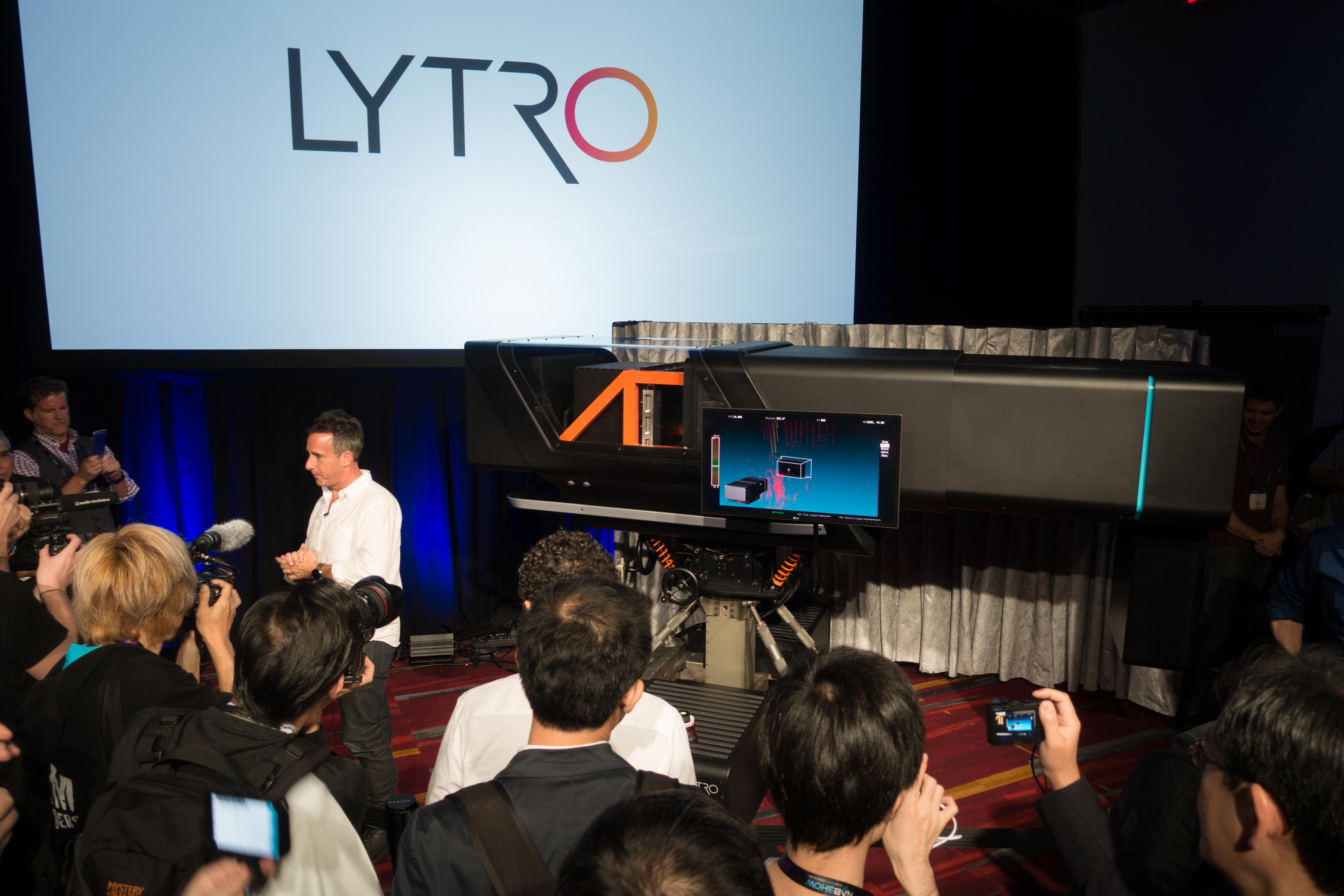 Lytro Poised To Forever Change Filmmaking Debuts Cinema Prototype Click Here For A Photograph Of The And Short Film At Nab Digital Photography Review